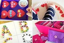 Love is in the Air / Valentine's Day and love/heart/sweetness activities for those precious wee ones in your life.