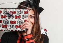 Ju-Ju-Be for Hello Kitty, Peek a Bow! / Ju-Ju-Be for Hello Kitty's new print for January 2015!