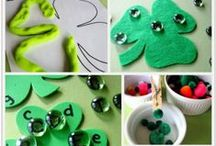 Lucky Leprechauns, Rainbows, Clovers and more! / Lucky things related to St. Patrick's Day - leprechauns, four-leaf clovers, rainbows, the color green.  :)