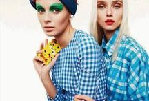 Gingham & Checks / Leave the plaid behind for winter and focus on the new micro checks and vichy prints for the sping!