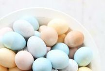 Easter Feast / Easter Fashion, Food, and Decor Inspiration