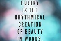 Poets and Poetry and Pretty Quotes