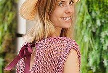 Summer Ideas / Lace stitches, shawls, decor, toys.