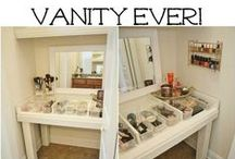 Dressing Room & Vanity ~ Home Decor / Creating the perfect dressing room and vanity to get ready in daily.