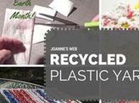 Eco-Friendly (EARTH MONTH!) / Recycled, repurposed projects or yarn. Or both.