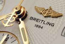 Breitling Watches / Specialist of technical watches and official supplier to aviation, Breitling is a leader in the field of wrist chronographs.