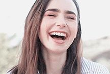 Lily Collins❣️ / The best role model ever! She's the best, most beautiful person ever❤️❤️