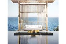 OUTSIDE FURNITURE INSPIRATION / The comfort and luxury doesn't necessarily have to be inside your house. Comfort is also out there! http://insplosion.com/