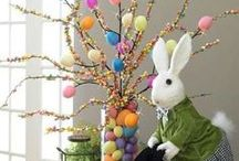 Easter Ideas / Ideas and diy for easter home decoration and kids activities