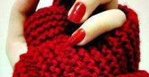 Rouge // Red / Red yarn inspiration
