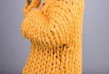 Jaune // Yellow / Laine + Jaune // Wool + Yellow