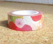 Washi tape / Rouleaux de washi tape, adhésif de masquage.  Cute washi tape from everywhre.