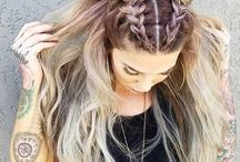 Hair / Here you will find a lot of different hairstyles that are super easy and trendy