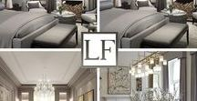 LUXURY INTERIORS CREME & GRAY / Luxury Furniture London