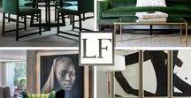 LUXURY INTERIORS CREME & GREEN / Luxury Furniture London