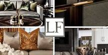 LUXURY INTERIORS BLACK & GOLD / Luxury Furniture London