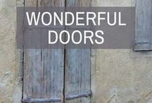 Wonderful Doors / Wonderful Doors | Style your home with classic & contemporary home decor products • unique & affordable bed linen & interior design accessories | ManchesterCollection.com.au