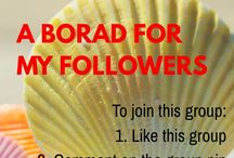 A board for my Follower / To become a Collaborator - Follow me and this board, then comment the board name to one of my pins, then i'll add you to this board :) Pin Anything you like, happy Pinning.. lets all work together to make this an active board. :)