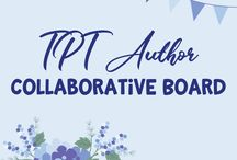 TPT Author Collaborative Board / Welcome TPT Author, This is a collaborative board for TPT Sellers. Feel free to pin your products here, and please help pin on other products too. To join follow me on TPT https://www.teacherspayteachers.com/Store/Sue-Kayobie , and send a message there. Happy Pinning