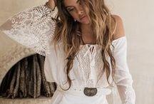 Boho dresses / White boho dress ideas