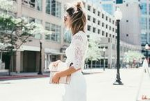 Little White Dresses / Collection of Little White Dresses.  Little, Cute and Charmy!