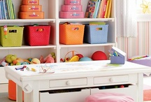 Kid Spaces / A collection of colorful spaces, organization ideas, and decorating inspiration for kid-centered rooms and learning environments.     / by Finding the Teachable Moments