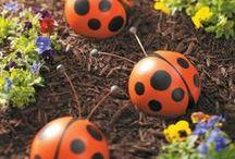 garden goodies & flowers / by Stephanie Tullos