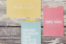 All Things - PRINTABLES