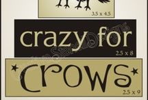 Crows (and a few Ravens) / My Favorite Bird. / by Paula Snoddy