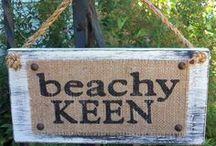 "Beachy-Keen / Beach Things that aren't actually ""Beach Scenes"". / by Paula Snoddy"