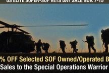 US Elite Super SOF Veteran's Day Sale