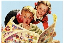 Kid's Books, Comics, Funnies,& Toons / Children's books, comics, etc.that I had or loved as a kid. / by Paula Snoddy