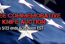 """Marc Lee Commemorative Knife Auction / """"Memorial Day has come to signify the start of summer for many in our country and is often celebrated with grills, beaches and sales,"""" stated US Elite's CEO, Steve Keefer, who served as an Army Ranger (75th).  """"The real meaning of Memorial Day is lost to most, in a quest for fun.  Memorial Day was created as an occasion to honor those who have paid the ultimate price to ensure our freedoms. This knife is not just a memorial for Marc Lee, but to honor all who have made the ultimate sacrifice."""""""