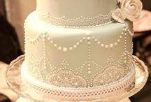 Wedding: the cake