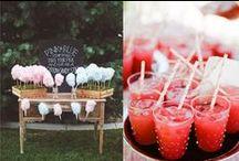 Wedding: the food