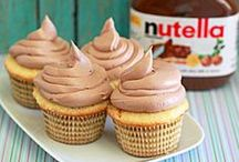 Recipes - Nutella / One food that can actually compete with my fervent love of Reeses: Nutella.  / by KJF