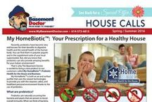 Tips & Special Offers / Newsletters, Mailers, Coupons, Tips and other Special Offers from The Basement Doctor.