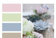 WEDDING COLORE PALETTE
