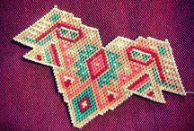 Rocailles... / Création en perles..... Beaded creation