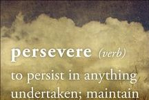 2016 Word ~ Persevere