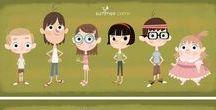 Character Design kids