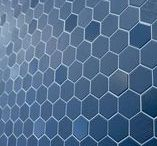 Hexagonal Tiles @ The Tile Depot / An ever increasing range of hexagonal tiles for your floors and walls