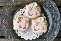 Girl Baby Shower / Recipes for celebrating the birth of a baby, particularly a giril!