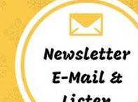 E-Mail Listen & Newsletter / Wie du für dein Blog einen Newsletter einrichtest und erfolgreich schreibst. Alles über E-Mail Marketing und das Geldverdienen mit der Liste.