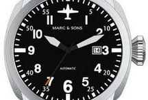 Fliegeruhren | Pilot Watches / Hier sammeln wir alle Bilder unserer MARC & SONS Fliegeruhren. | Here you can find images from our MARC & SONS Pilot Watches.