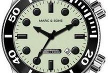 Taucheruhren | Diver Watches / Diver Watches, Taucheruhren von MARC & SONS
