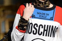Moschino / Just showing my love for this brand..