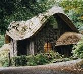 Natural Living / Natural homesteads, in a time past, when we lived in tune with nature.