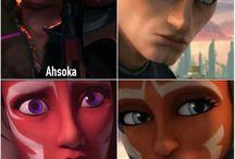 Ahsoka & Anakin