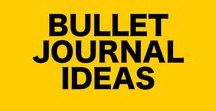 Bullet Journal Ideas / Full of bullet journal ideas and bullet journal layouts so you don't need to ask, how do you start a bullet journal?